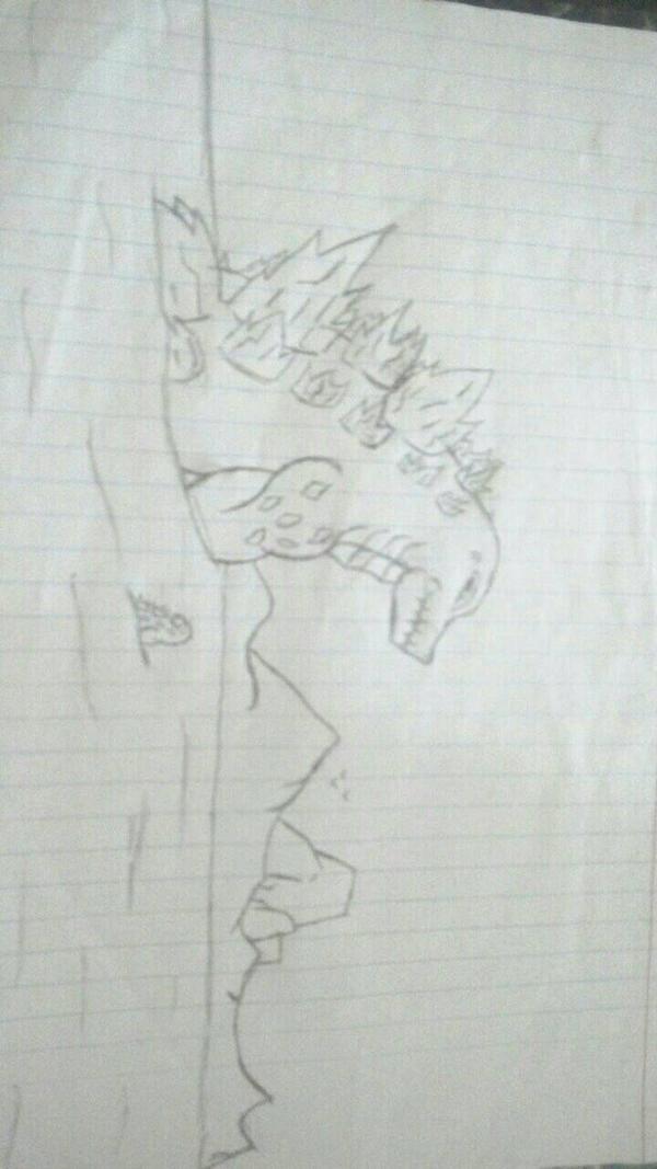 Godzilla and Jr