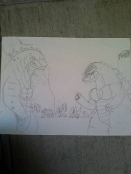 The Ancient and The Mutant KWCE Fan Art