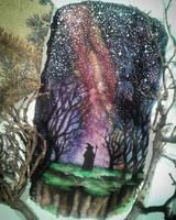 The road goes on - Tolkien Fan-Art by FeanorFeuergeist