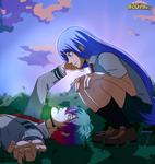 .: BNHA OC YCH: Daeki x Nejire :. by Eien-no-Yoru