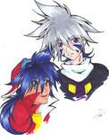 Kai and Takao by KaiDatInuChan