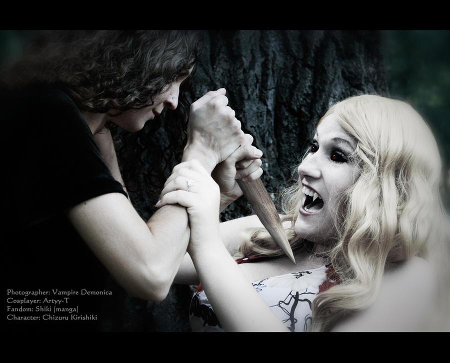 Shiki - Kill a vampire - Chizuru Kirishiki by Artyy-Tegra