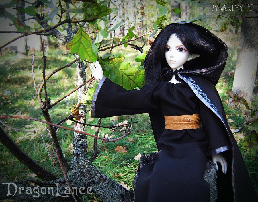 Dalamar - BJD-cosplay by Artyy-Tegra