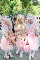 Sweet Lolita X Hime Gyaru by Rie307room