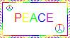 PEACE Stamp by Panthiguar