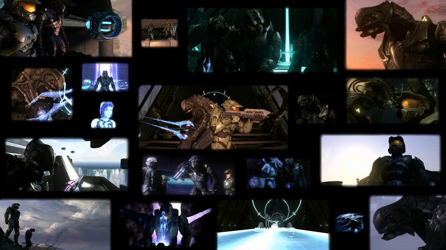 Master Chief And Arbiter Halo 3 Desktop By Panthiguar