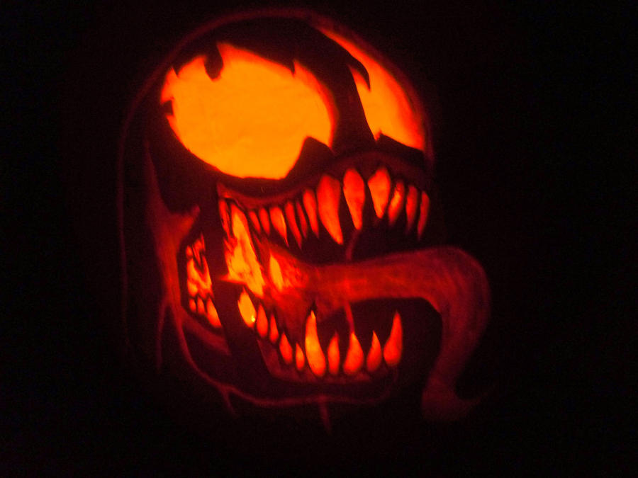 Venom Pumpkin By S4781r On Deviantart