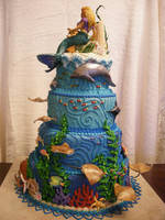 Atlantis Cake view 4