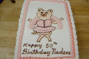 Sexy pig cake