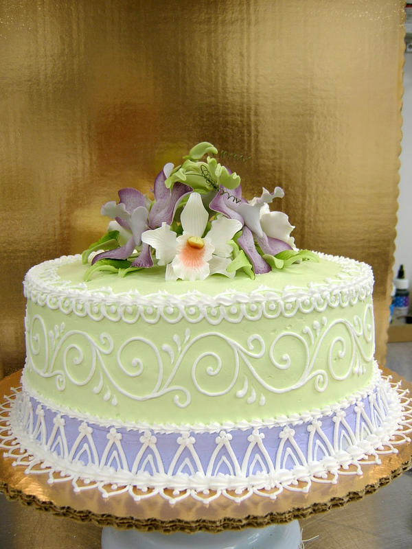 Elegant Birthday cake by TheEvIlPlankton on DeviantArt