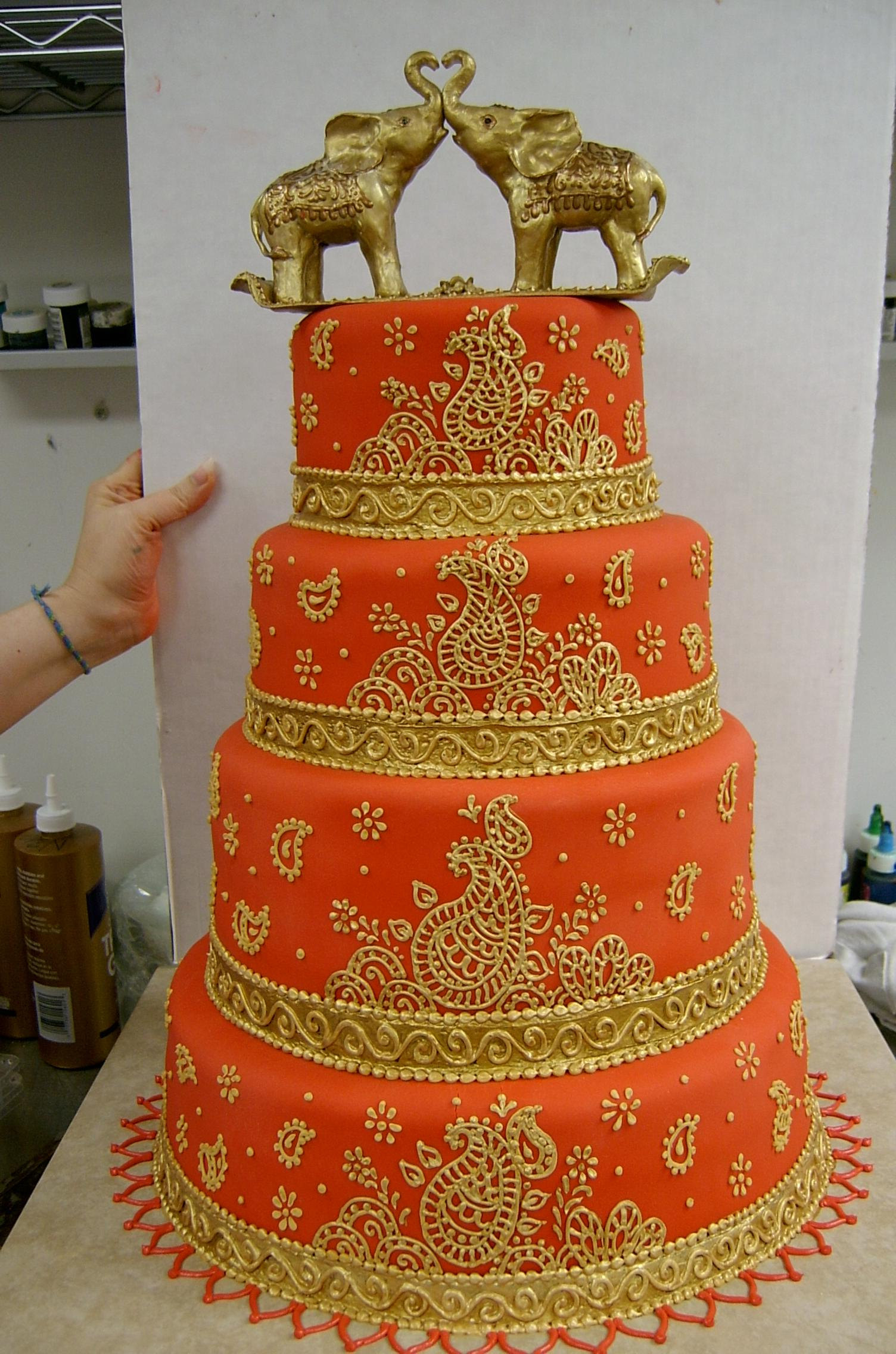 Orange Princess Cake Topper