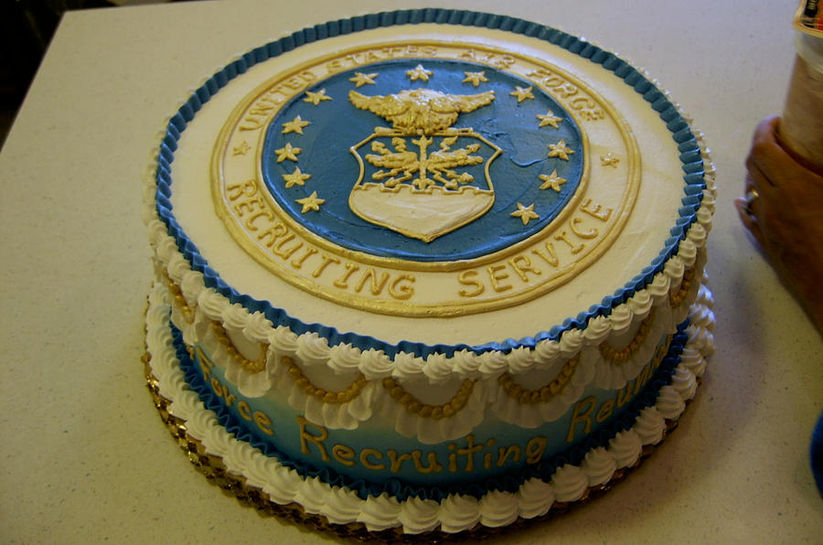 Airforce cake by the evil plankton on deviantart for Air force cakes decoration