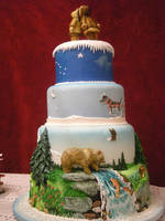 Alaska cake: side view by The-EvIl-Plankton
