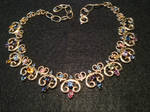 Colors of Saphire Necklace