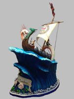 Viking Cake : Front View by The-EvIl-Plankton