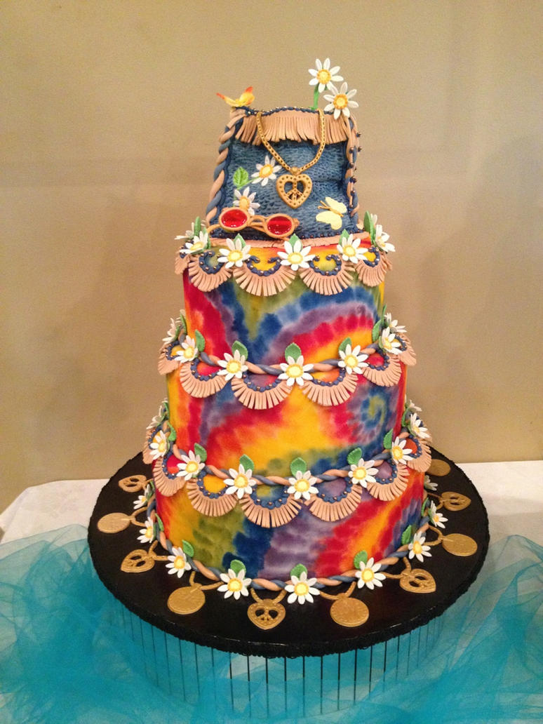 Cake Decoration Trippy