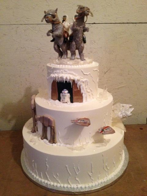 r2d2 wedding cake topper winter wedding hoth planet wars by the evil 18951