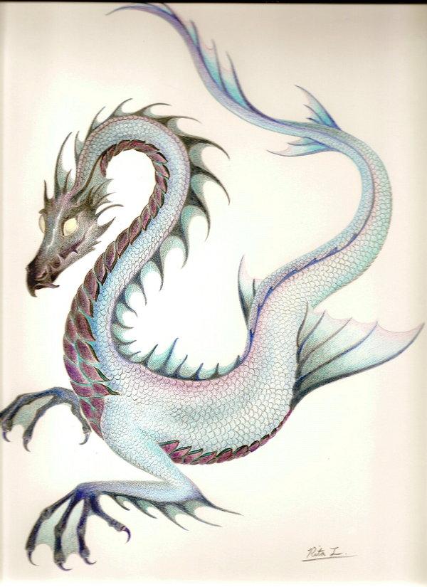 Sea dragon by The EvIl Plankton by The-EvIl-Plankton