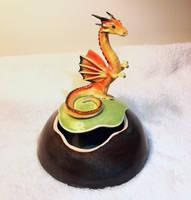 Little Orange Dragon Box