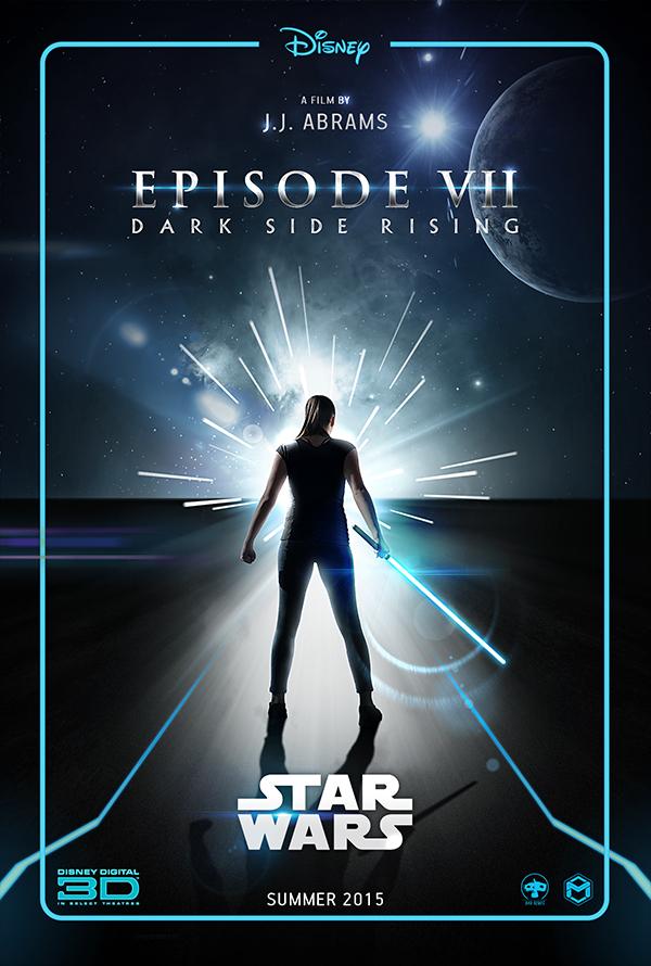 Star Wars Episode 7 Dark Side Rising Teaser Poster