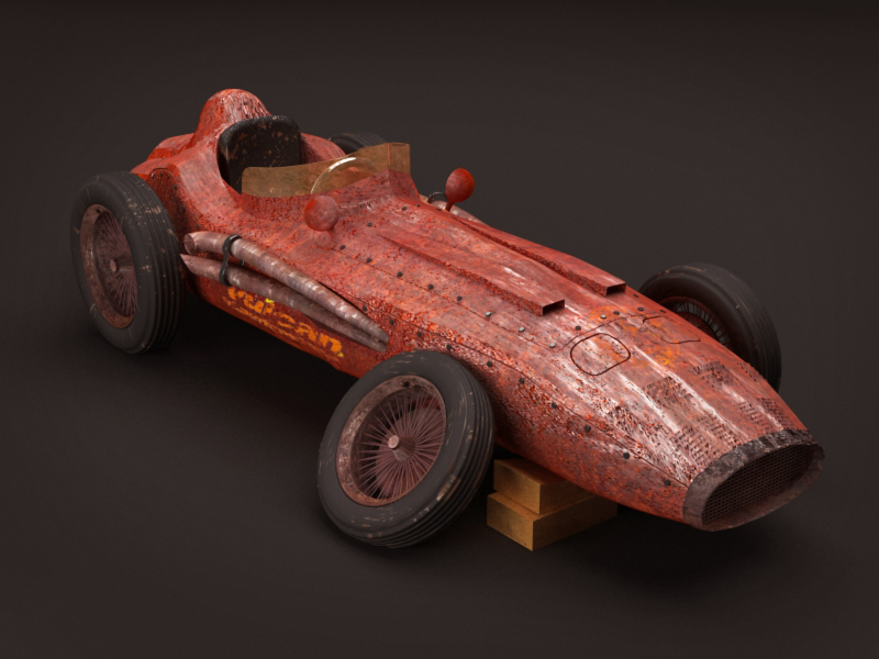 old racing car by hesamsaken on DeviantArt