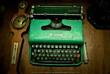 Writers desk by Koljan