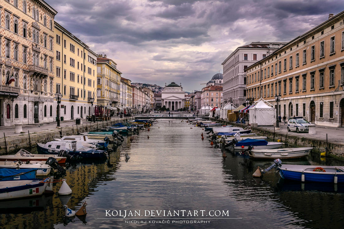 Canal grande by Koljan