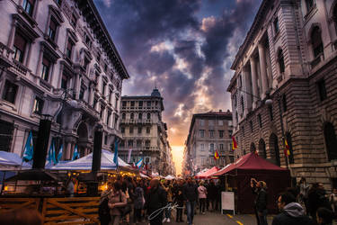 Streets of Triest by Koljan