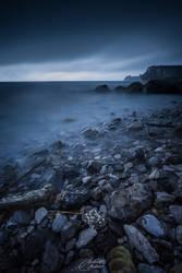 The storm upon the coast by Koljan
