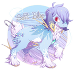 [CLOSED] Heart Lure Auction: Soft Blue