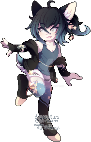 [C] Quinn Pixel by dracooties