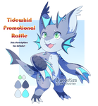 [CLOSED] Free Promo Raffle: Little Shark by dracooties