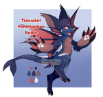 [CLOSED] Wave Rider:Tidewhirl Participation Raffle by dracooties