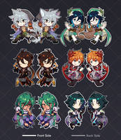 [MERCH NOW AVAIL] Genshin Impact Acrylic Charms