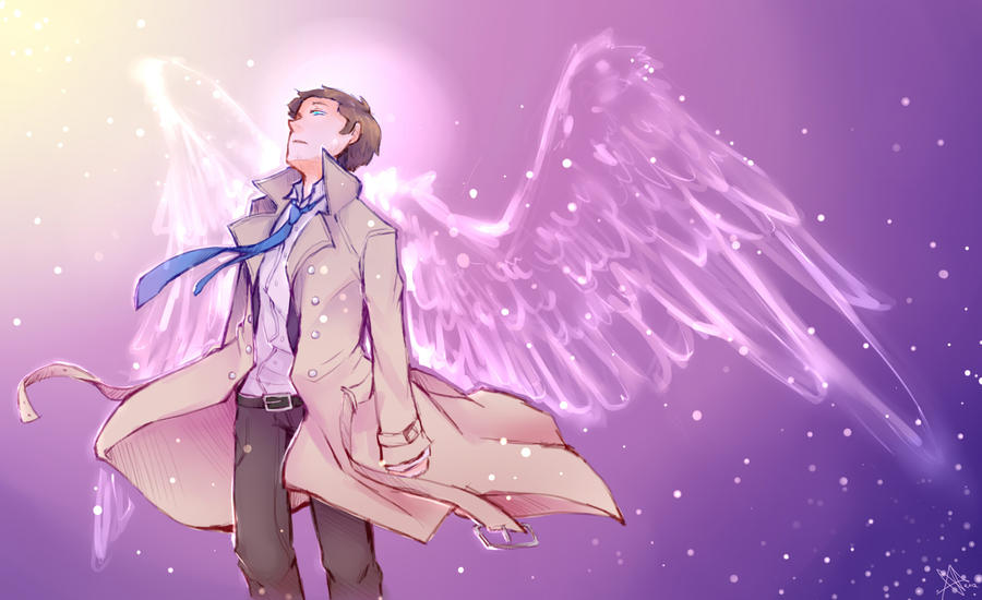 Castiel by Life-Writer