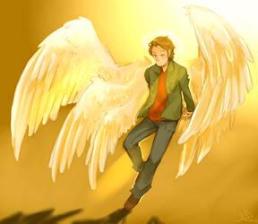 Archangel Gabriel by Life-Writer