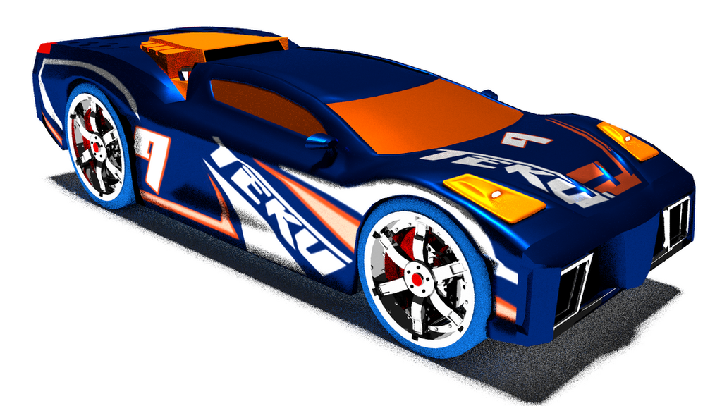 Hotwheels Acceleracers Reverb Front by mikedrago on DeviantArt