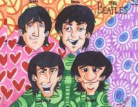 cartoon beatles by tikbaloycube