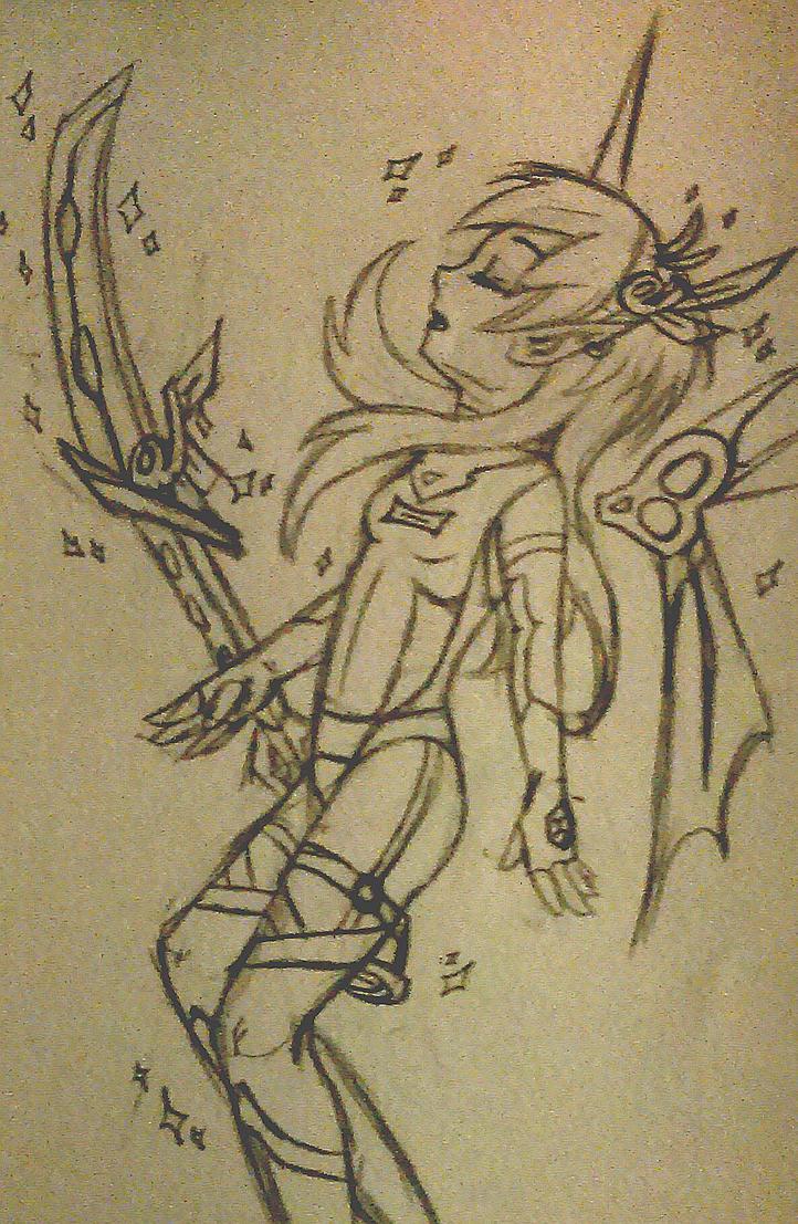 Anime Mecha: Daxluly by HJaramillo