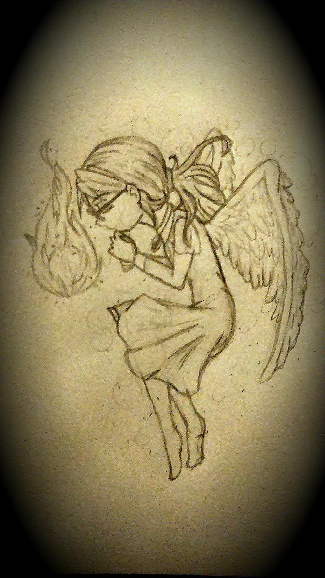 An angel's soul by HJaramillo