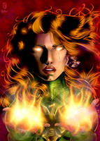 Phoenix - Colored by LadyOrange