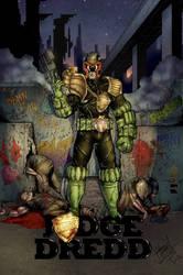 Judge Dredd by LadyOrange