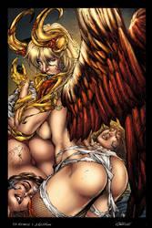 30 Angelus by Ed Benes Colored by LadyOrange
