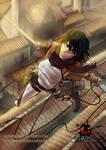 Mikasa (shingeki no Kyojin) Fanart