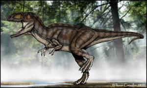 Giganotosaurus carolinii by WilkSaur