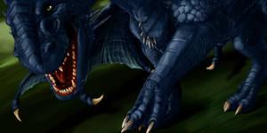 Black Dragon by elen89