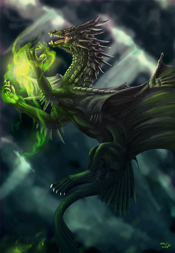 Black Dragon-09 by elen89