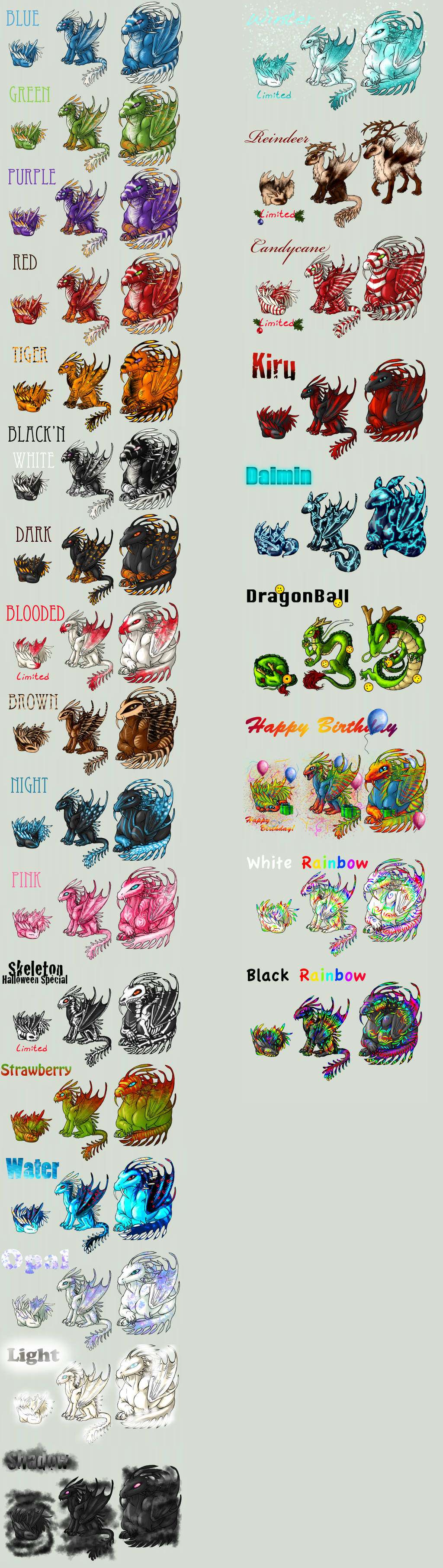 Adopt -Jungle Dragon- by elen89