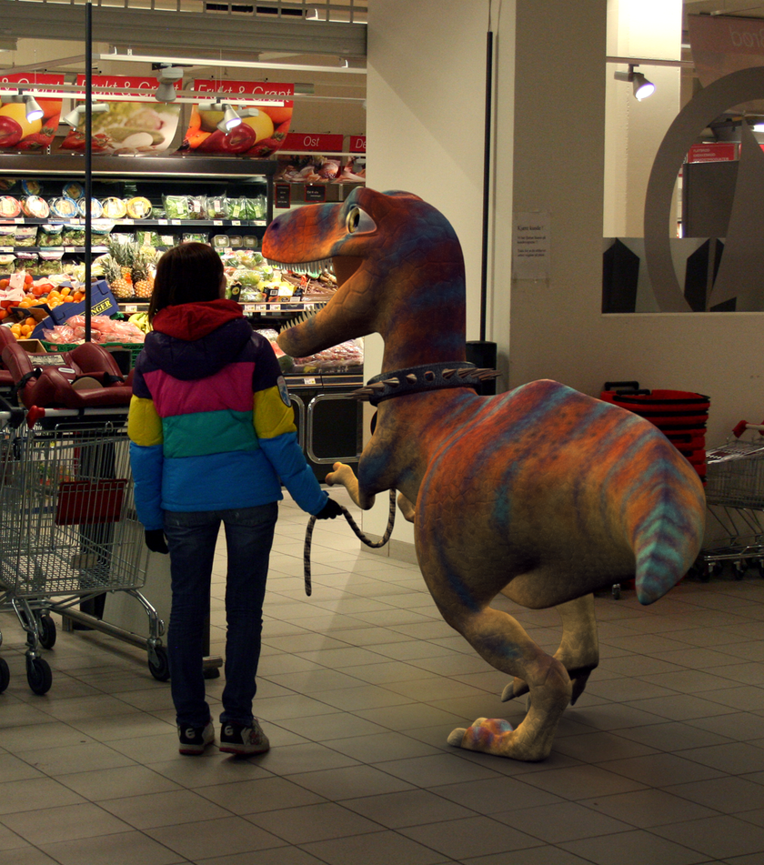 Dino walk -The store- by elen89