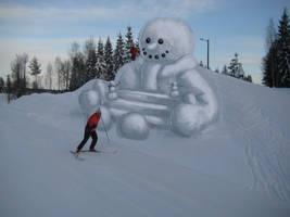 snowman by elen89